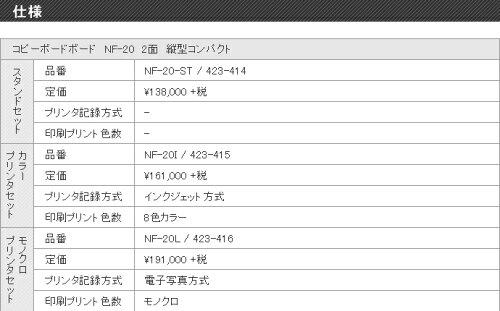 プラスコピーボードNF-20I