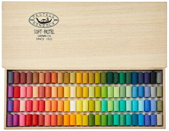GONDOLA soft pastel 100 color set ( gondola and art supplies)