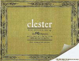 clester watercolor paper sketchbook block type F6 size