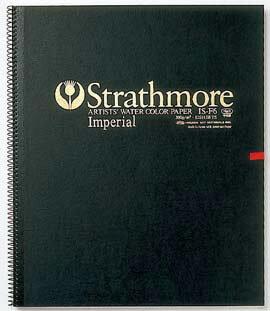 【お得な3冊まとめ】Strathmore 水彩紙 インペリアル スケッチブック スプリングタイプ F4サイズ