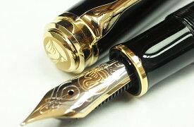 ペリカン 万年筆 スーベレーン M800 ブラック 18金 ペン先 ピストン吸入式 FP
