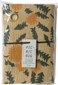 山陽製紙 PICNIC RUG DANDELION Mサイズ(ピクニックラグ/ブルーシート/レジャーシート)