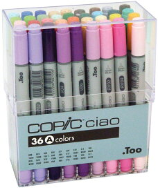 Too COPIC コピックチャオ 36色 Aセット