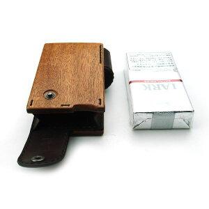for Cigarettes Soft Long Package/木製タバコケースソフトロング用 (LIFE/ライフ/職人手作り/シガレットケース)