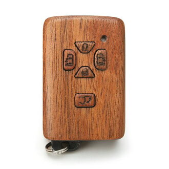 For Smartkey Toyota car-adaptive wooden smart key case A (for exclusive use of LIFE/ life / craftsman handicraft / Toyota /)
