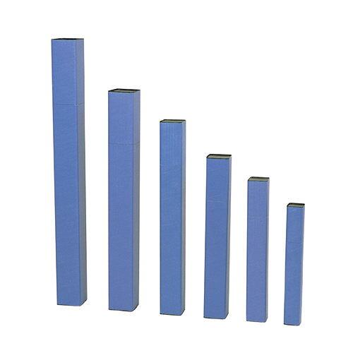 【エントリーで全品ポイント10倍】ドラパス 角型紙筒 85×1065mm 81-126 (角筒/製図用品 図面ケース/梱包用紙筒、紙管)