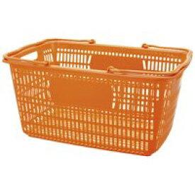 ジョインテックス ショップかご 30L橙10個 B264J-OR10 (整理収納用品/収納家具 ケース・ボックス・小物 /文具、オフィス用品)