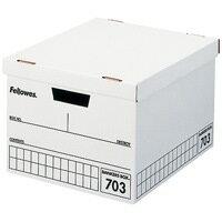 フェローズジャパン フェローズ703ボックスA4 黒 3個パック (書類保存箱/ボックスファイル/保存用ファイル)
