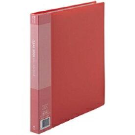ジョインテックス クリアーブック40P A4S赤10冊 D048J-10RD (クリヤーファイル/事務用品 クリップ クリップボード/クリップボード)