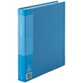 ジョインテックス クリアーブック60P A4S青10冊 D049J-10BL (クリヤーファイル/事務用品 クリップ クリップボード/クリップボード)