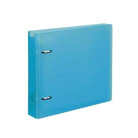 コクヨ CD/DVDファイル 22枚収容 ケース付 ライトブルー EDF-CF221LB 1冊