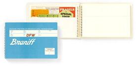 MIDORI BRANIFF ブラニフ スパイラルリングノート B6サイズ ポケットタイプ (ミドリ/デザインフィル)