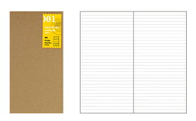 TRAVELER'S notebook トラベラーズノート用リフィル 横罫 001(レフィル/リファイル)