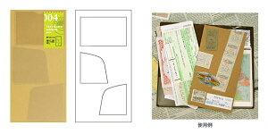 TRAVELER'S notebook トラベラーズノート用リフィル ポケットシール 004