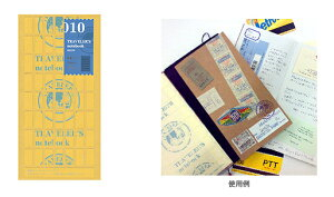 TRAVELER'S notebook トラベラーズノート用リフィル 両面シール 010
