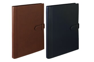 maruman Giuris maruman / Somes collaboration product ジウリスファイルノート A4 size 30 hole Binder leather