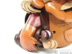 VANCACRAFT革物語本革製メガネ小物スタンドキャディー(バンカクラフト/ヴァンカクラフト/皮革/手作り/プレゼント/ラッピング/レザー/小物入れ/整理/収納/インテリア/ゴルフ)