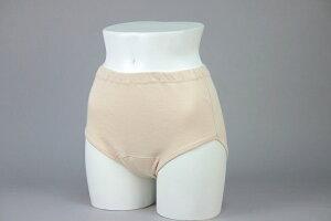 【安心の日本製】クラビオン女性用失禁パンツ、尿漏れパンツ(尿漏れ軽度対応)ベージュ色3枚組 【送料無料】