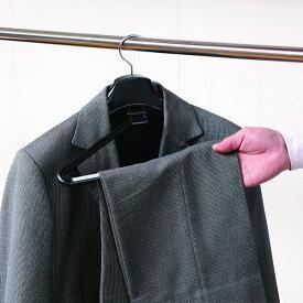 ハンガー スーツ ジャケット プラスチック エルパソストップハンガー ブラック ハンガー 型崩れ HANGER hfjdl
