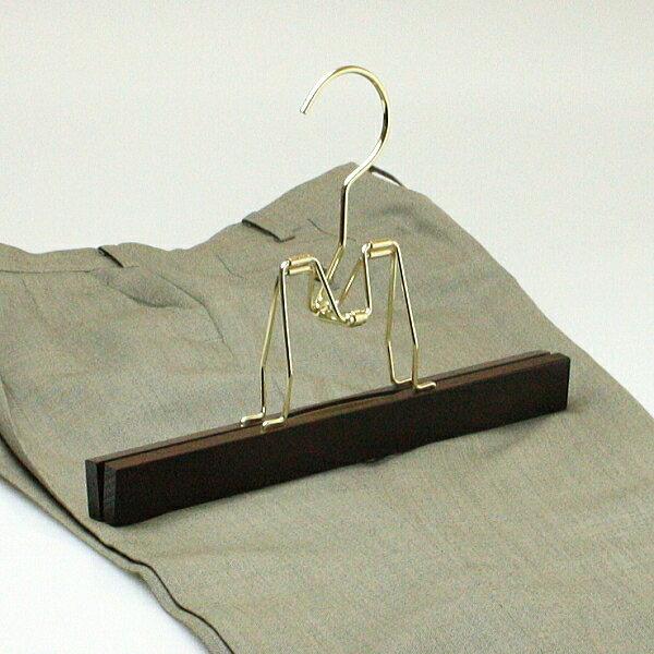 アウトレット ハンガー木製 ハンガー ズボン用 ズボン吊り パンツ用 木製ボトムハンガー HANGER 名入れ可 c7lnh