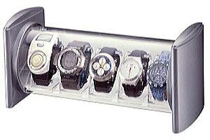 時計 ケース 時計 収納ケース 腕時計 ケース ウォッチケース コレクションケース ディスプレーケース【コレクタワー ウオッチスタック シルバー】