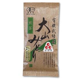 長田茶店 有機栽培 大山みどり 煎茶 80g