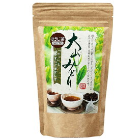 長田茶店 大山みどり ティーバッグ ほうじ茶 3g×12P