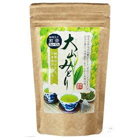 長田茶店 大山みどり ティーバッグ 抹茶入り煎茶 3g×12P