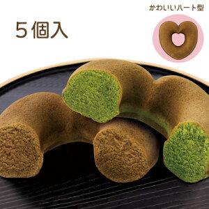 長田茶店 大山の香り 豆乳の焼きど〜なっつ 5個入(抹茶×3個、ほうじ茶×2個)