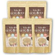 長田茶店大山の香りほうじ茶ラテ5本セット