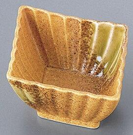 AZ4−242 信楽風菱型小鉢 [運賃別途お見積り] [メーカー直送 代引き不可] 【食器 グラス キッチン用品 キッチン 業務用 特価 格安 新品 楽天 販売 通販】 [7-2280-2101 6-2162-2301 ]