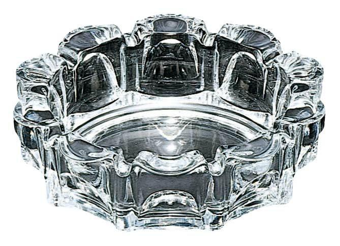 ガラス ローラー 灰皿 小 P−05533−JAN 1769-12 【卓上用品 卓上小物 業務用 特価 格安 新品 楽天 販売 通販】[10P03Dec16]
