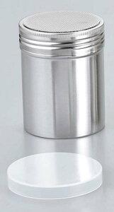 18−8 パウダー缶(アクリル蓋付)大 φ70×95 【厨房用品 ストッカー 裏漉し スープ漉し 業務用 特価 格安 新品 楽天 販売 通販】 [0417-09]