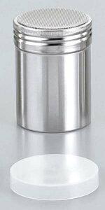 18−8 パウダー缶(アクリル蓋付)小 φ55×80 【厨房用品 ストッカー 裏漉し スープ漉し 業務用 特価 格安 新品 楽天 販売 通販】 [0417-09]