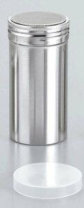 18−8 パウダー缶(アクリル蓋付)ロング φ55×115 【厨房用品 ストッカー 裏漉し スープ漉し 業務用 特価 格安 新品 楽天 販売 通販】 [0417-09]