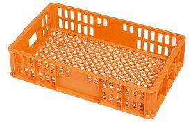 セキスイ コンテナー BT−20M オレンジ PP 0242-03 【厨房用品 バスボックス・コンテナー類 業務用 特価 格安 新品 楽天 販売 通販】