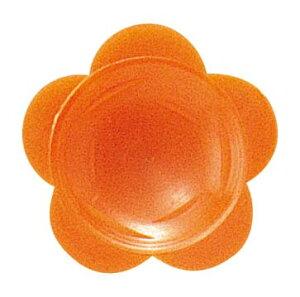 わさび皿(500枚入)花 オレンジ 【厨房用品 食品 包装 容器 業務用 特価 格安 新品 楽天 販売 通販】 [2095-31]