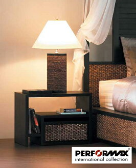 Water hyacinth bedside table / side table / nightstand / contemporary furniture (custom-made)