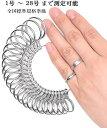 リングゲージ 1号-28号対応 指輪 ゲージ 指輪サイズ 測れる 指の太さをはかる リング サイズゲージ日本標準規格