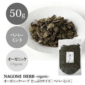 Organic JAS organic herb Peppermint 50 g