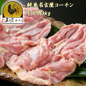 純系 名古屋コーチンモモ肉 1kg 朝引き 地鶏 冷蔵 モモセット 焼き鳥 業務用