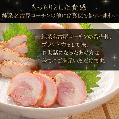 【送料無料】2,650円(税別))純系名古屋コーチン燻製セット鶏肉【ギフト】【楽ギフ_包装】【楽ギフ_のし】【地鶏】【冷蔵】【燻製セット】