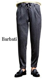 送料無料 バルバッティ パンツ メンズ 秋冬 おしゃれ Barbati パンツ ワンプリーツ テーパードパンツ グレー チェック コットンストレッチ セットになるアイテムがあります。商品番号3147