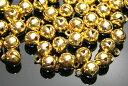 【メール便OK】ハンドメイド・アクセサリー用素材♪鈴(すず)7mm【ゴールド(代用金メッキ)】【 卸売り100個 】|ジェル…