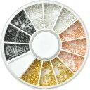 4色ブリオン ブリオン スタッズ ラインストーン お試しセット ケース付き|ネイル パーツ ジェル ネイルパーツ ネイル…