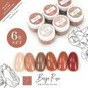 【全6色セット】Select color SPシリーズ BeigeRose ベージュローズ テラコッタ ブラウン カラージェル ジェルネイル …