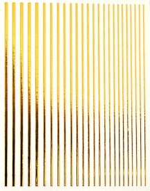 ネイルシール 色々な太さがセットになったライン ゴールド シルバー 未硬化ジェルの上から貼れる強力粘着 | ネイルシール ネイル シール ネイル用品 デコ ネイルアート ライン ラインシール ジェルネイル ジェルネイル用品 ネイルパーツ ラインテープ ゴールド ネイル工房
