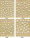【メール便OK】【粘着力UPの改良版3Dネイルシール】今までの3Dネイルシールとはちょっと違う♪選べる28種類(パッケー…