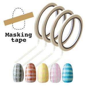 ジェルネイルのボーダーアートに♪マスキングテープ|ジェルネイル ネイル パーツ ネイル用品 ジェル ネイルシール ネイルパーツ シール 貼る ラインテープ マスキング フット シート マス