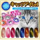 メール便OK【キャッツアイジェル】猫の目のように魅惑的★高級感のある光の模様が磁石で簡単にできるカラージェル全8色 ネイルレシピ…